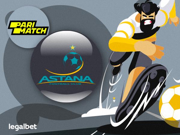 Legalbet.kz: Букмекер Parimatch стал официальным партнером ФК «Астана».