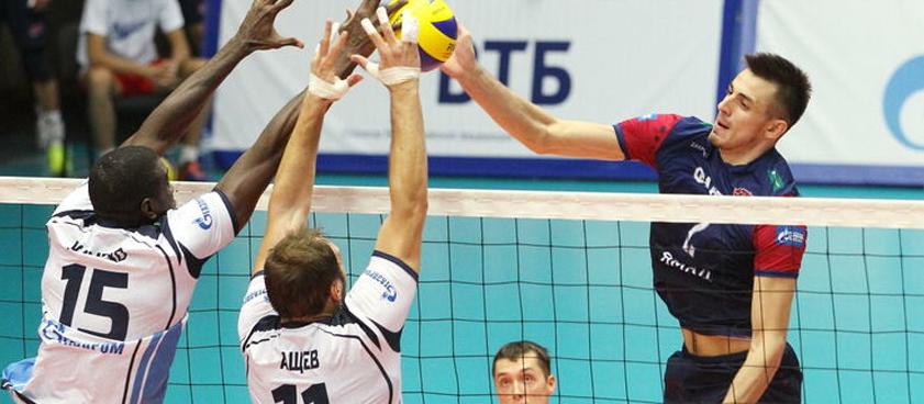 «Зенит» СПб – «Факел»: прогноз на чемпионат России по волейболу среди мужчин