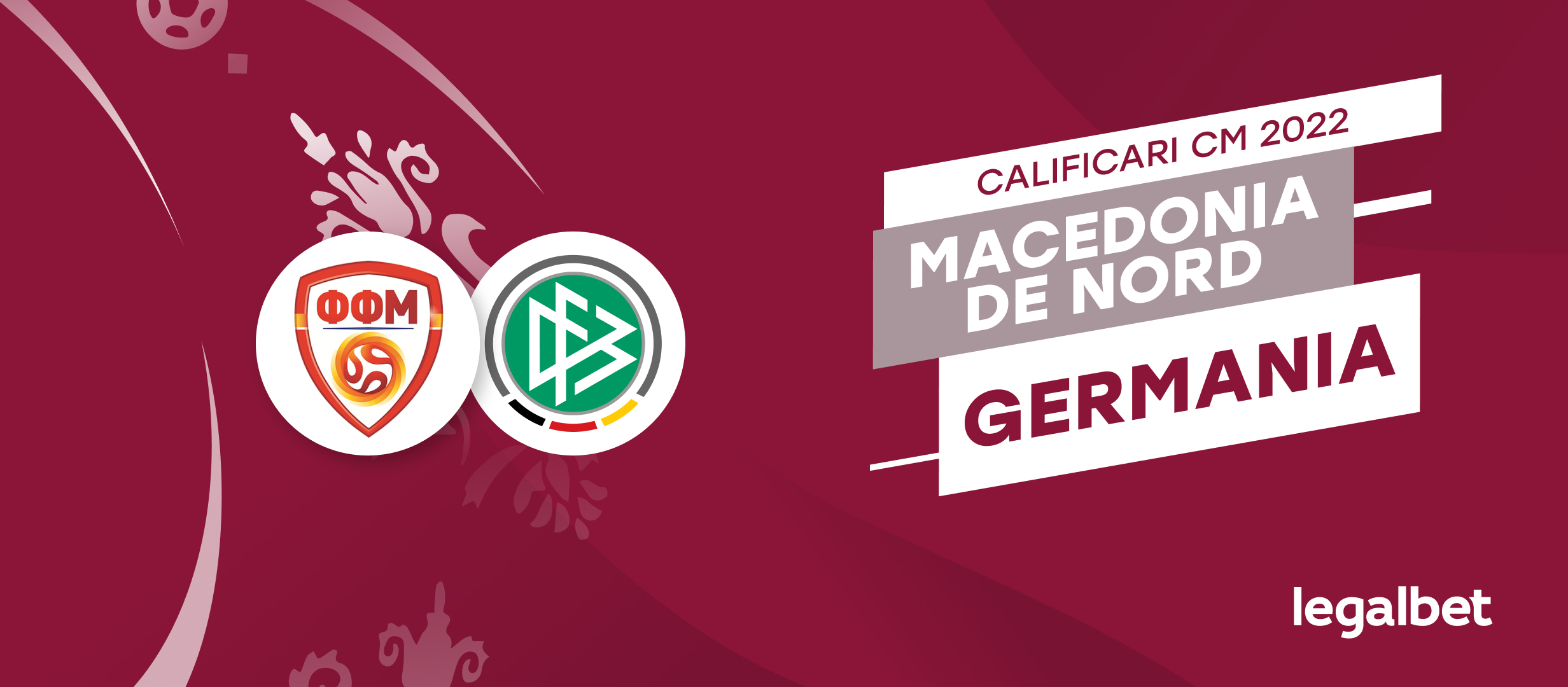 Pariuri si cote pentru Macedonia vs Germania, meci din preliminarile CM 2022