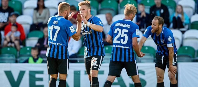 Inter Turku - Honka. Pariul lui Wallberg