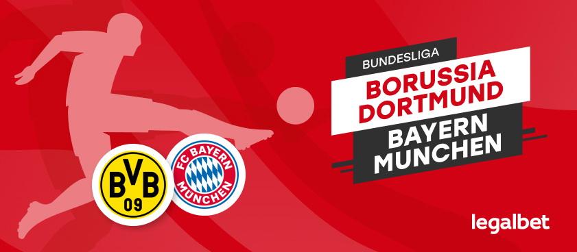 Borussia Dortmund - Bayern Munchen: analiza si ponturi pariuri Bundesliga