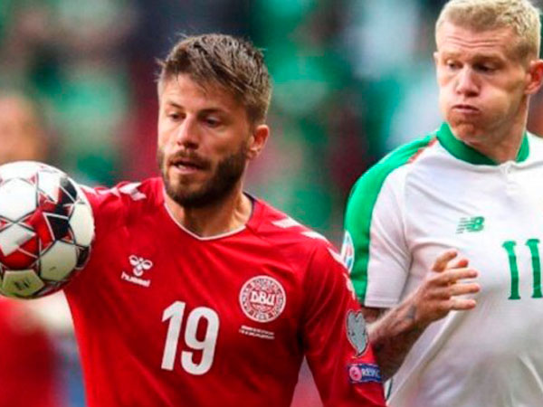 BK_Olimp: Ирландия – Дания: ничья выведет скандинавов на Евро-2021.