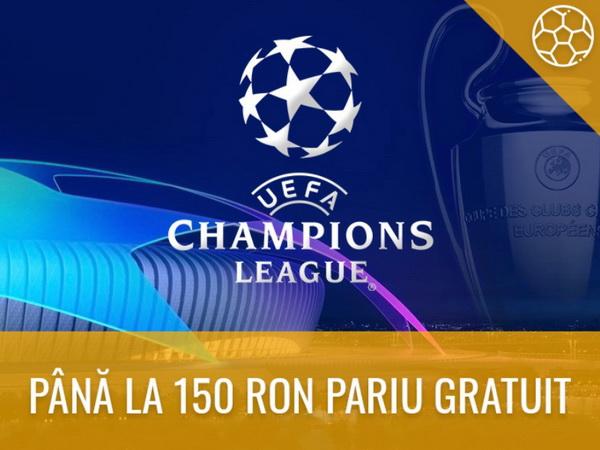 legalbet.ro: Semifinalele Ligii Campionilor îți aduc un Pariu Gratuit de până la 150 lei.