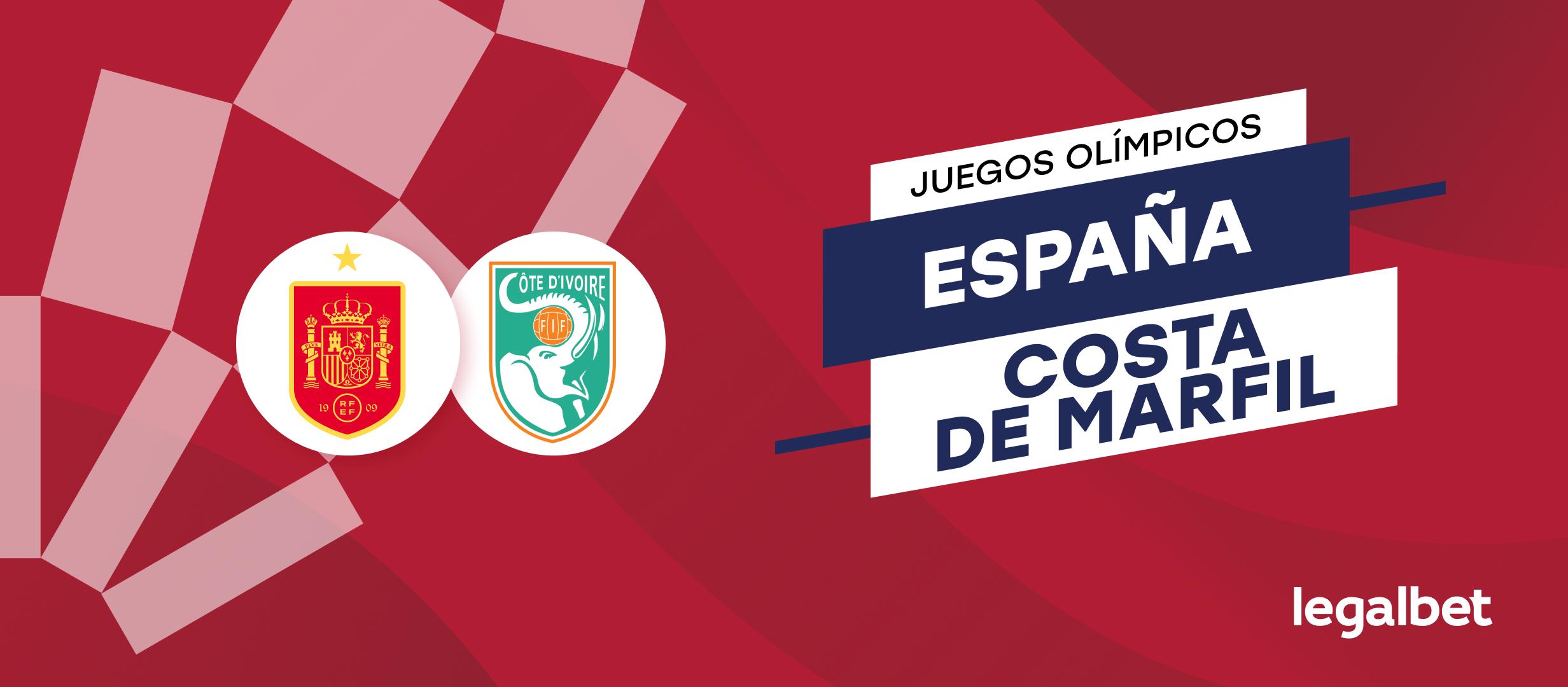 Apuestas y cuotas España - Costa de Marfil, Juegos Olímpicos 2020 (2021)