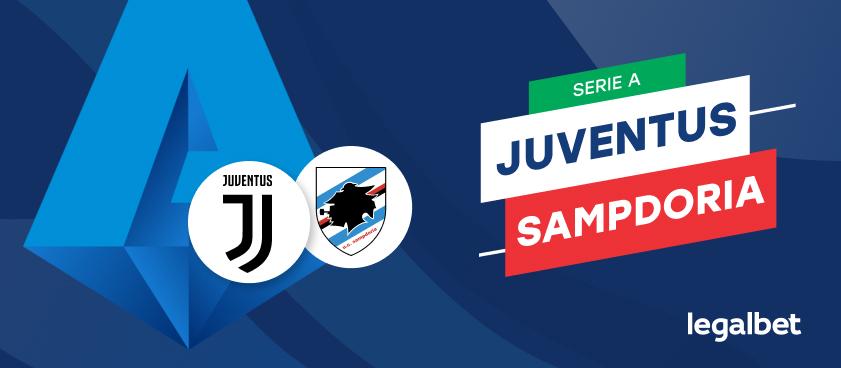 Apuestas y cuotas Juventus - Sampdoria, Serie A 2020/21