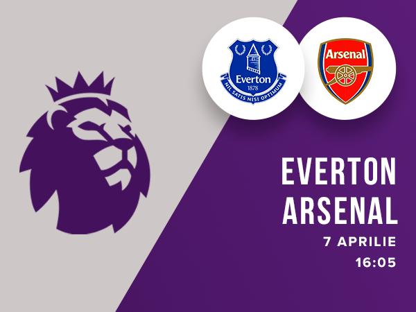 legalbet.ro: Everton - Arsenal: prezentare cote la pariuri si statistici.