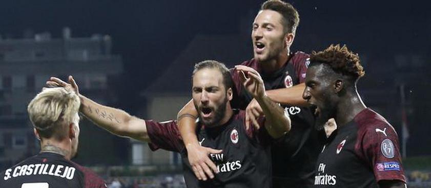 AC Milan - Dudelange: Predictii pariuri Europa League