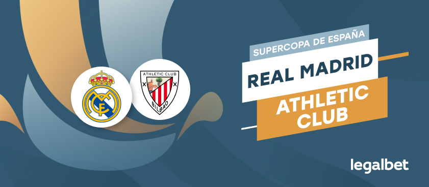 Apuestas y cuotas Real Madrid - Athletic de Bilbao, Supercopa de España 2020/21