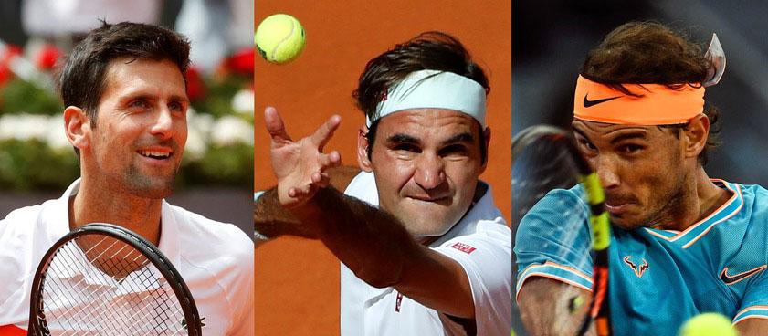 Большая тройка. Ставки на Джоковича, Надаля и Федерера на второй неделе ТБШ