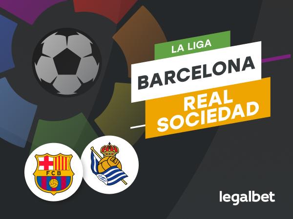 Cristian M: Barcelona - Real Sociedad - ponturi la pariuri. Partida care le poate relansa sezonul catalanilor.