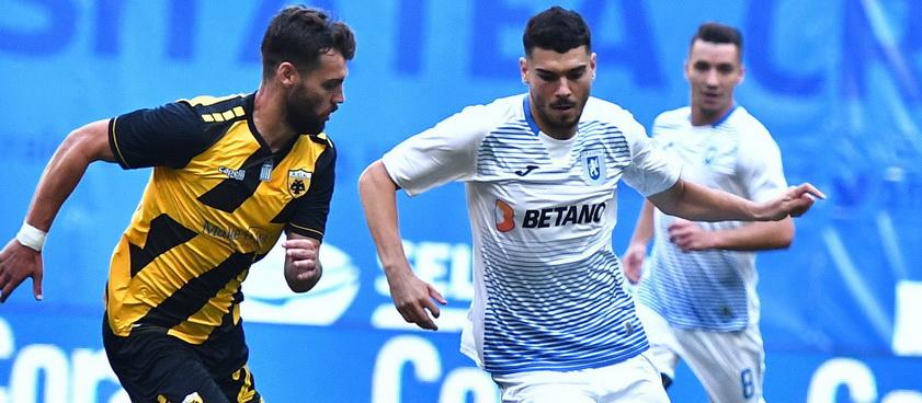 AEK Atena - Universitatea Craiova. Pronosticuri Europa League
