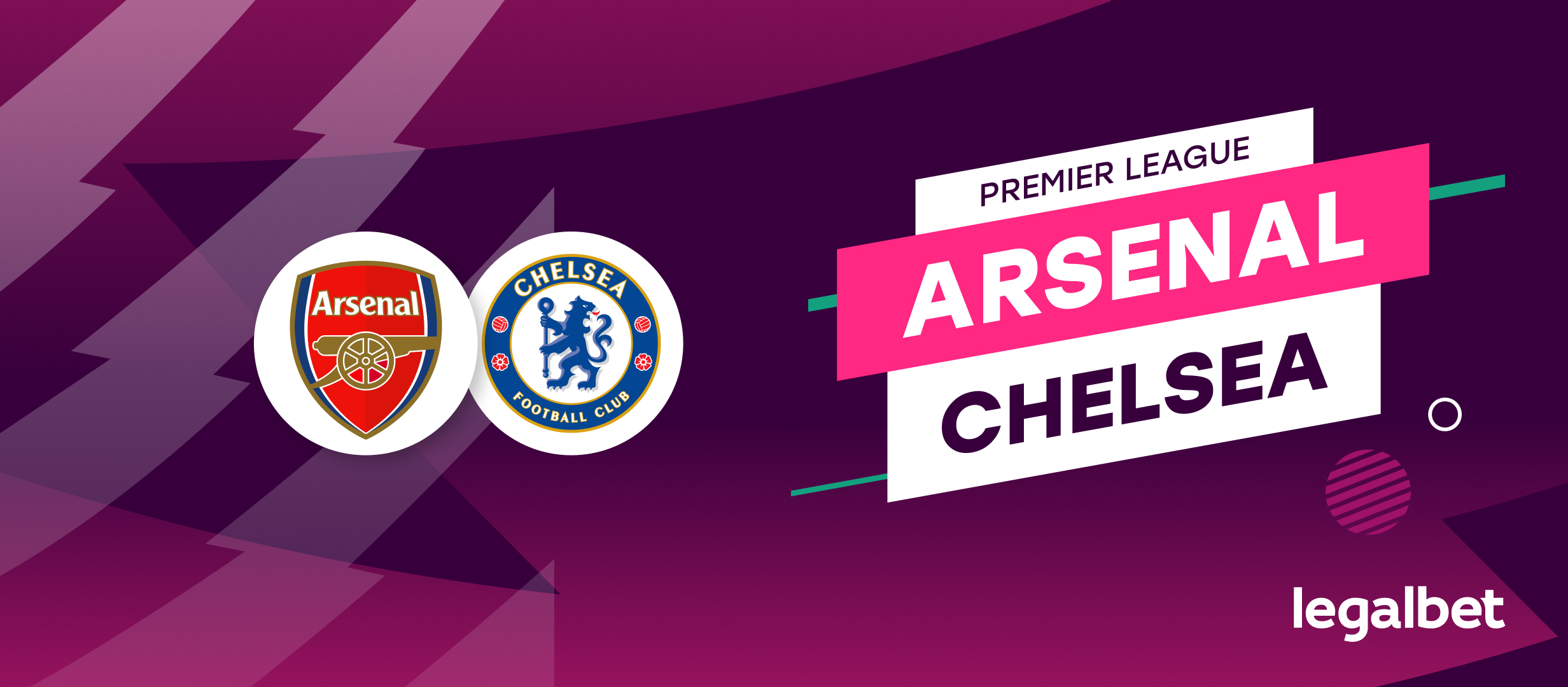 Apuestas y cuotas Arsenal - Chelsea, Premier League 2021/22