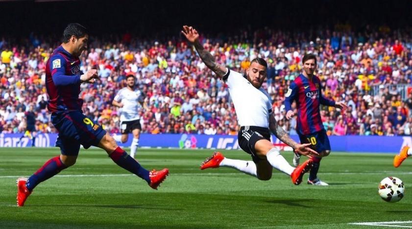 """""""Барселона"""" - """"Валенсия""""."""