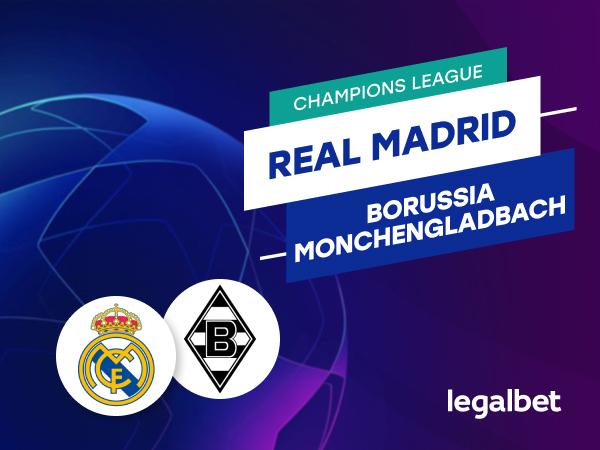 Antxon Pascual: Apuestas y cuotas Real Madrid - Borussia Monchengladbach, Champions League 2020/21.
