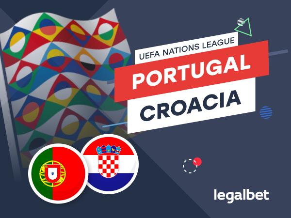 Antxon Pascual: Previa, análisis y apuestas Portugal - Croacia, UEFA Nations League 2020.