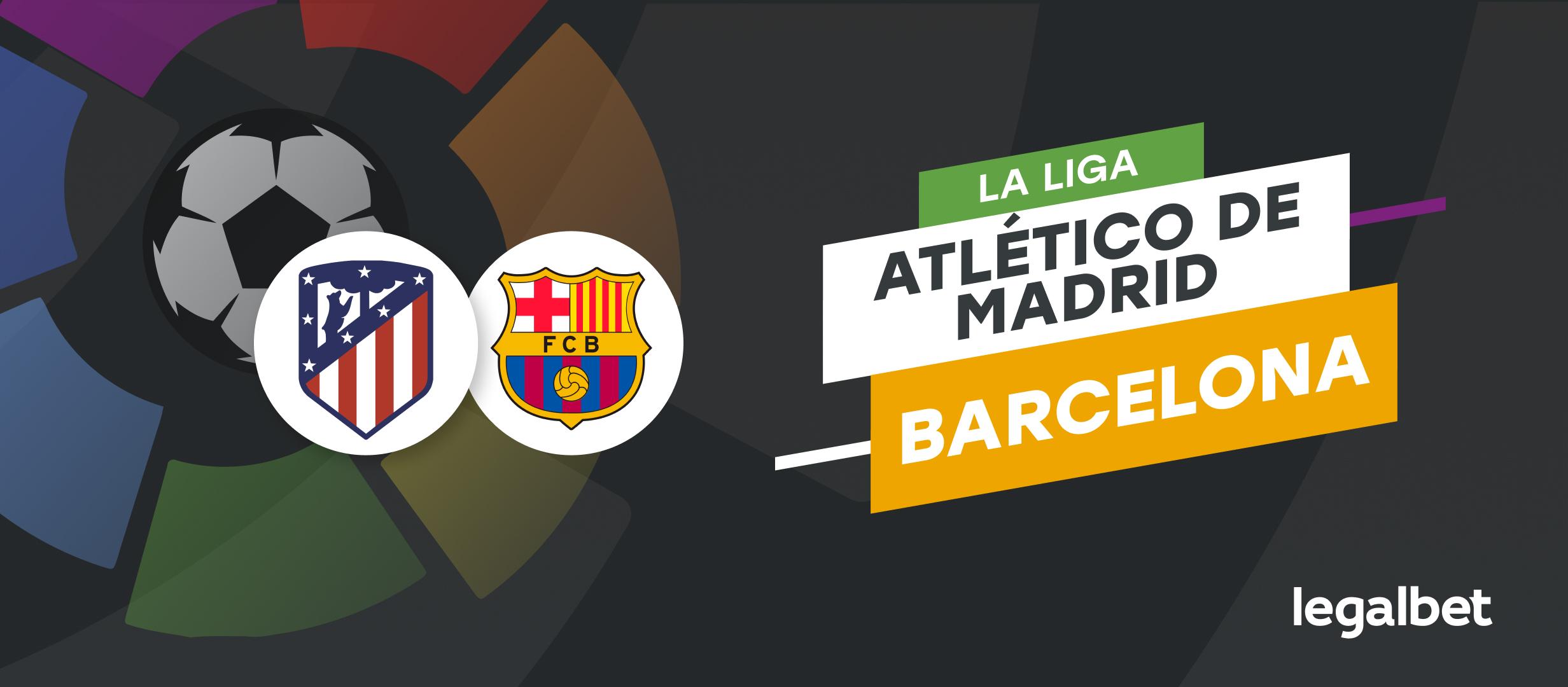 Apuestas Atlético de Madrid - Barcelona