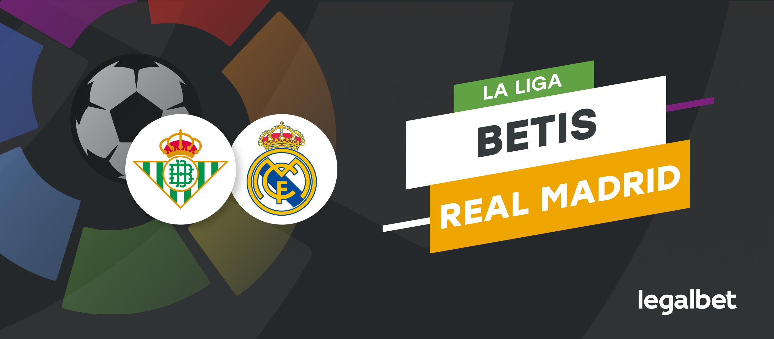 Apuestas y cuotas Real Betis - Real Madrid, La Liga 2021/22