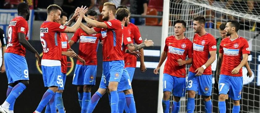 Hajduk - FCSB. Pontul lui Mihai Mironica