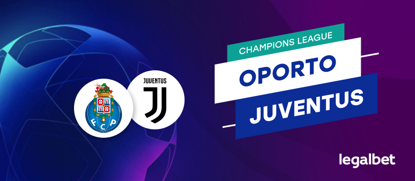 Apuestas y cuotas Porto - Juventus, Champions League 2020/21