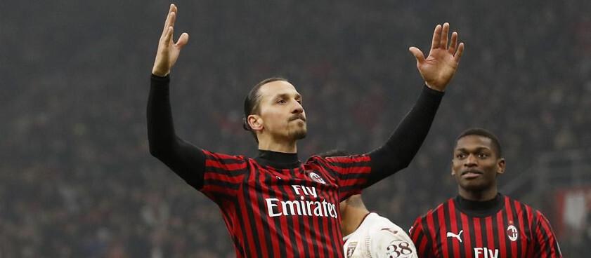 Ibra quiere continuar otro año más en el Milan para jugar la Champions