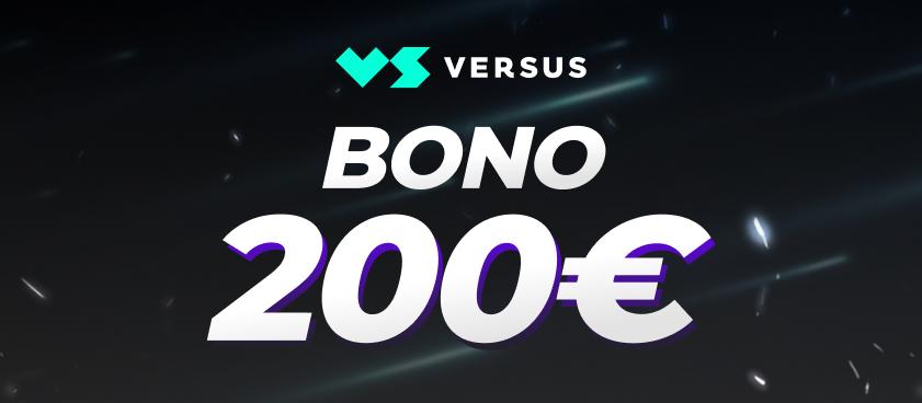¡Consigue el nuevo bono de VERSUS en Legalbet!