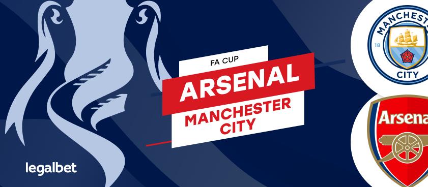 Previa, análisis y apuestas Arsenal - Manchester City, FA Cup 2020