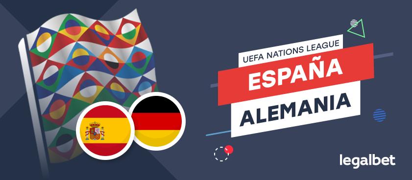 Apuestas y cuotas España - Alemania, Nations League 2020/21