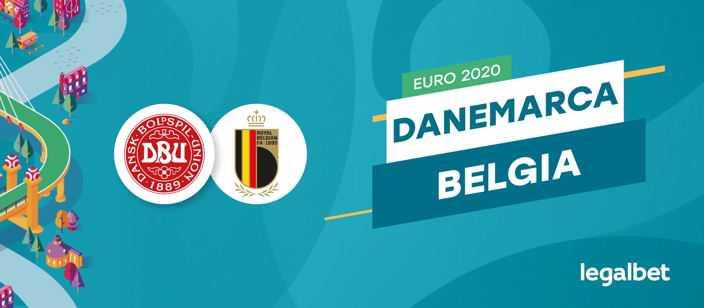 Danemarca- Belgia: analiza si ponturi Euro 2021