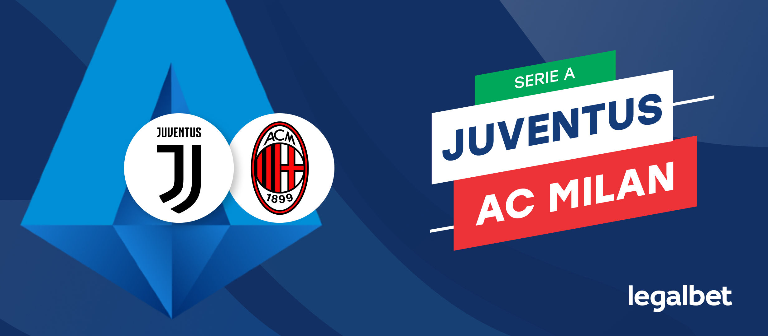 Apuestas Juventus - AC Milan, Serie A 2021/22