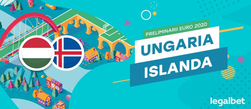Ungaria - Islanda : cote la pariuri, ponturi şi informaţii