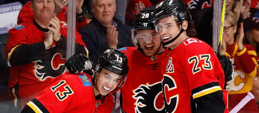 Vegas Golden Knights - Calgary Flames: Predictii hochei pe gheata NHL