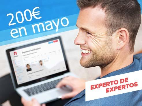 """Concurso """"Experto de expertos"""" del mes de mayo"""