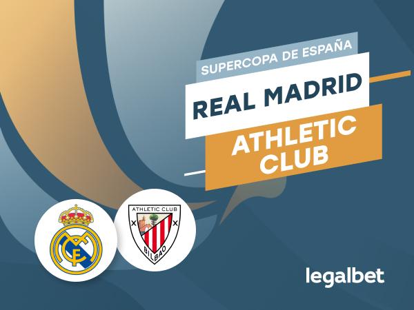 Antxon Pascual: Apuestas y cuotas Real Madrid - Athletic de Bilbao, Supercopa de España 2020/21.
