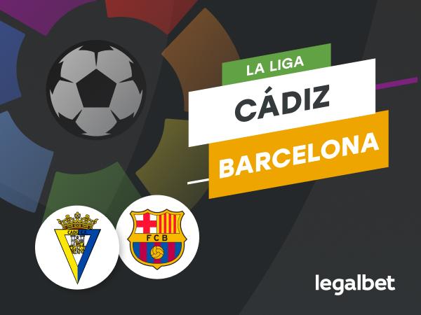 Antxon Pascual: Apuestas y cuotas Cádiz - Barcelona, La Liga 2020/21.