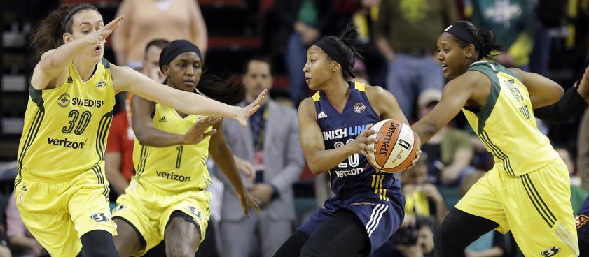 «Сиэттл Шторм» - «Индиана Фивер»: прогноз на регулярный сезон WNBA