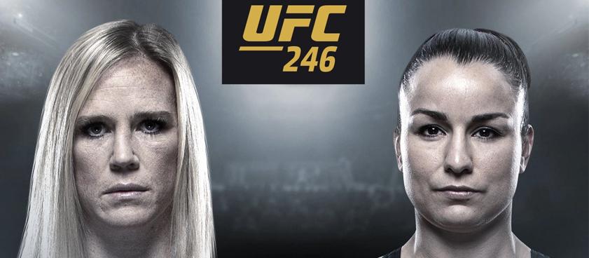 Холм - Пеннингтон: ставки на женский реванш UFC 246