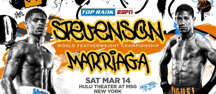 Стивенсон - Марриага: коэффициенты на бой за титул WBO
