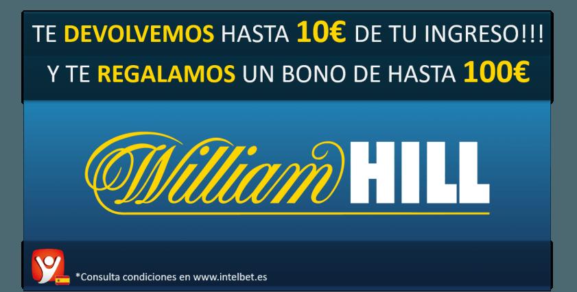 William Hill logo - Legalbet.es