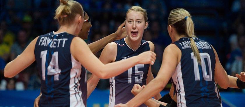 Китай (жен) – США (жен): прогноз на волейбол от Volleystats