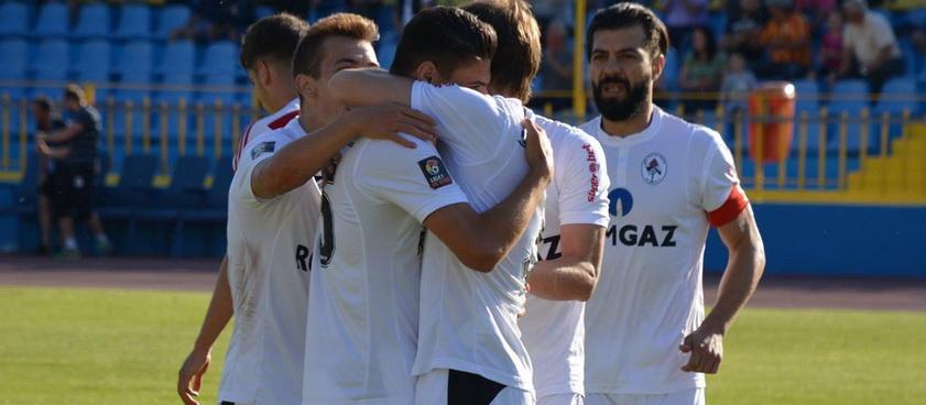 Gaz Metan Mediaş - Juventus București (play-out). Pontul lui Karbacher