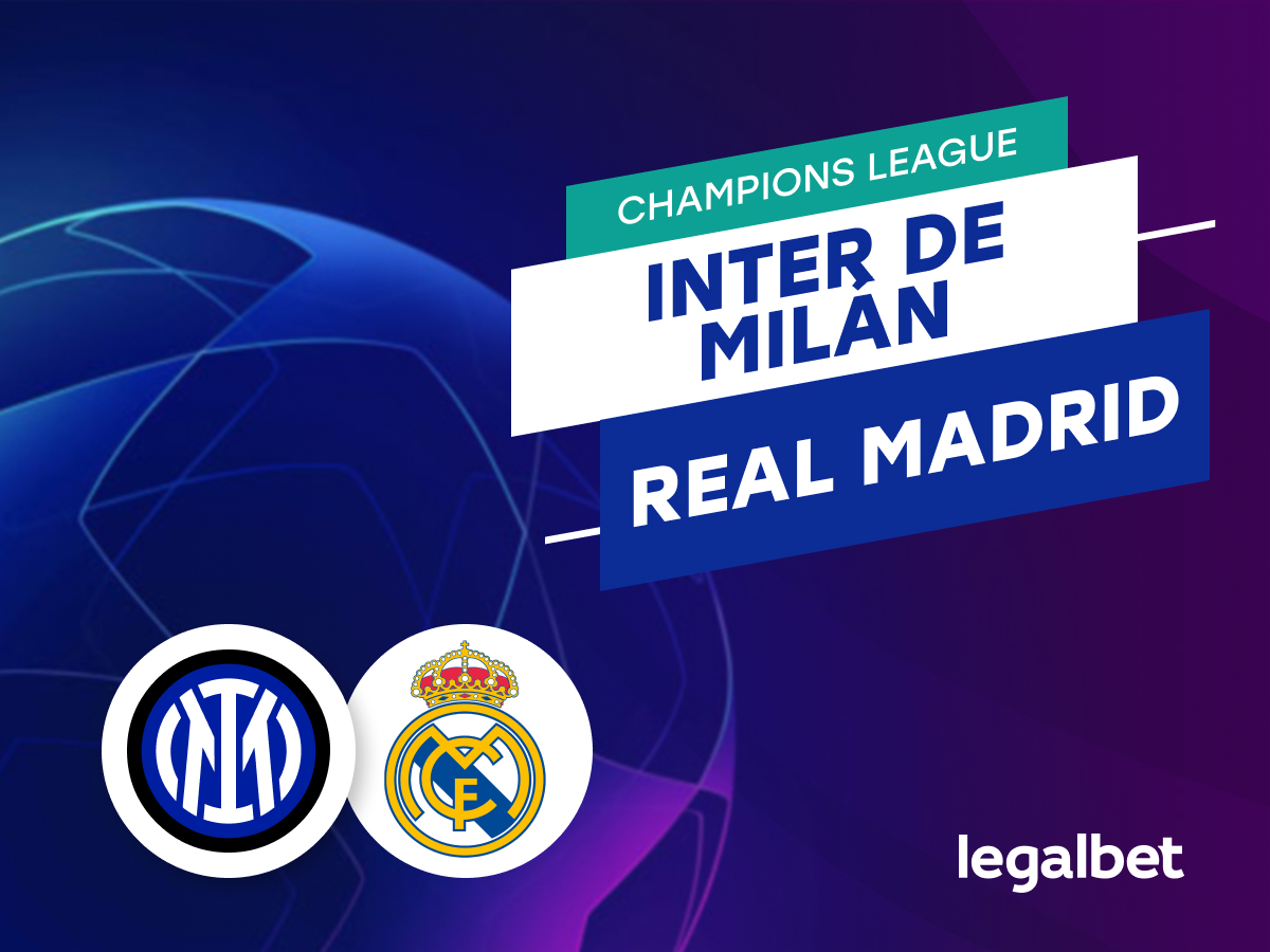 Mario Gago: Apuestas Inter de Milán - Real Madrid.
