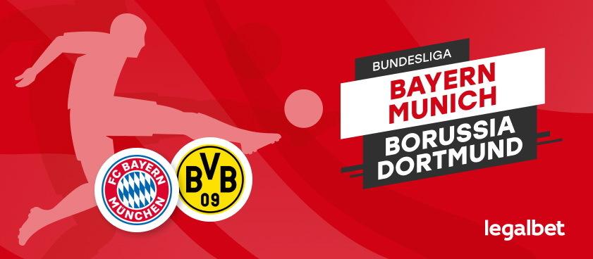 Bayern Munchen- Borussia Dortmund: analiza si pariuri