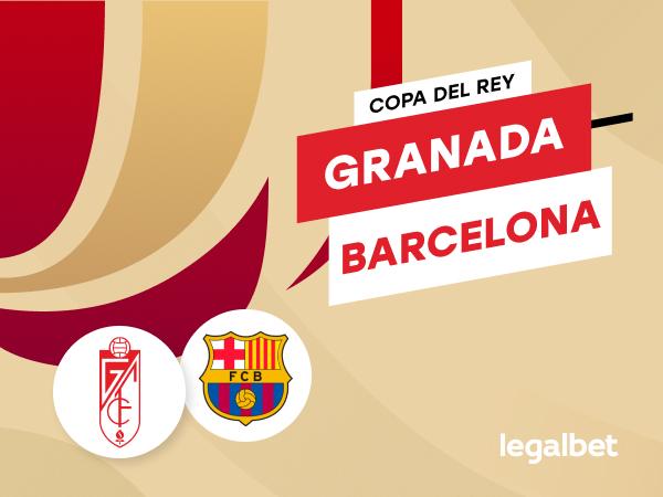 Antxon Pascual: Apuestas y cuotas Granada - Barcelona, Copa del Rey 2020/21.