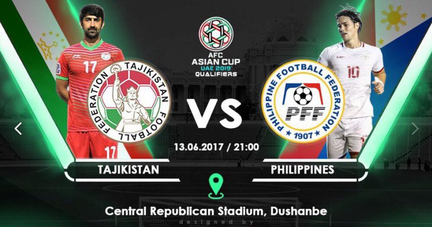 Таджикистан - Филиппины