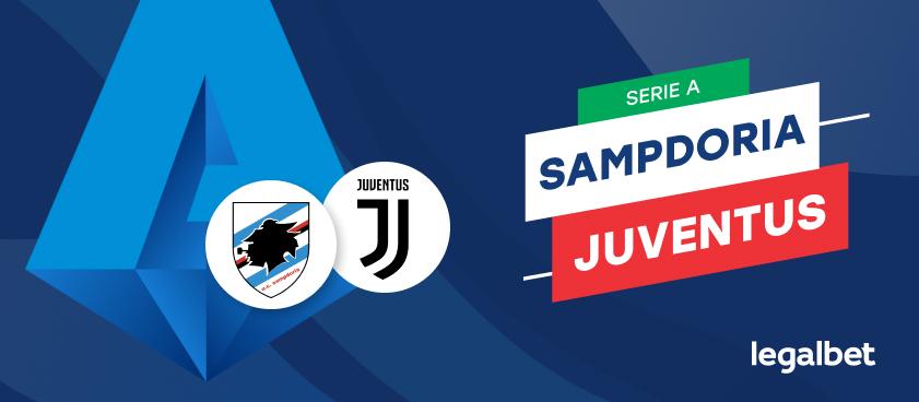 Apuestas y cuotas Sampdoria - Juventus, Serie A 2020/21