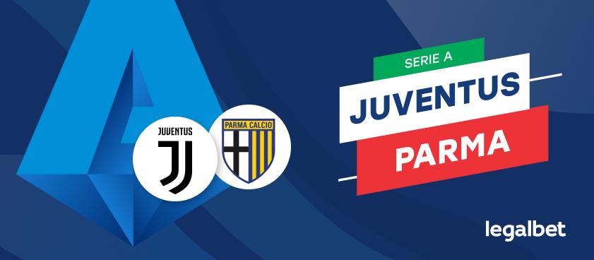 Apuestas y cuotas Juventus - Parma, Serie A 2020/21