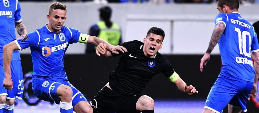 FC Viitorul - U Craiova. Predictii Pariuri Liga 1 Betano