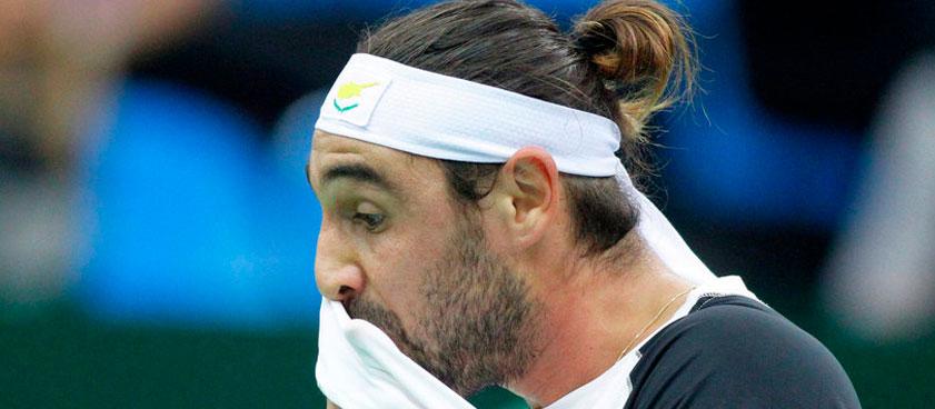 Оливетти - Багдатис: ставка и прогноз на теннисный матч турнира ATP Челленджер в Эккентале 30 октября 2018