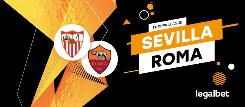Previa, análisis y apuestas Sevilla - Roma, Europa League 2020