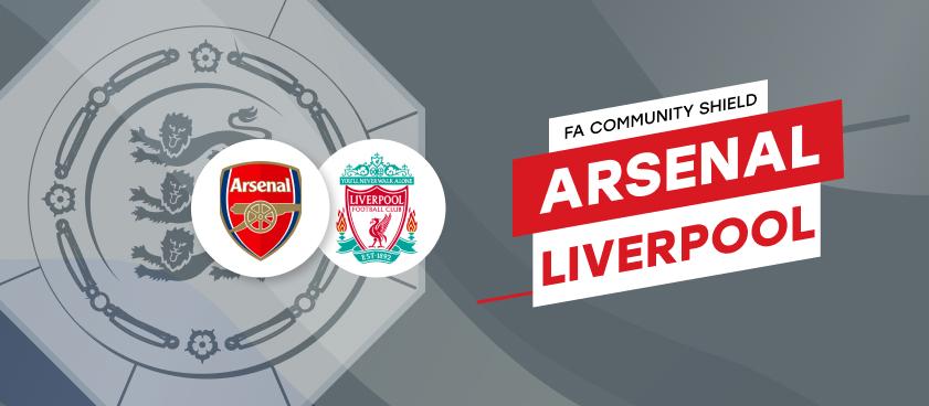 Previa, análisis y apuestas Arsenal - Liverpool, FA Community Shield 2020